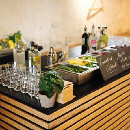 bar d'un traiteur mariage en provence