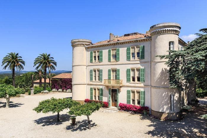 domaine pour lieux de réception mariage Chateau de Brégançon