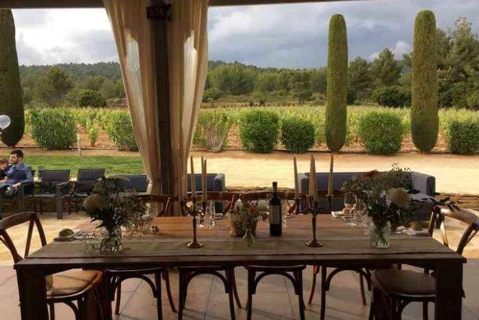 domaine pour lieux de réception mariage La Toussane
