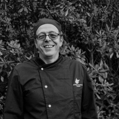 portrait du cuisinier traiteur Régis